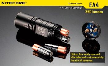 батарейки для фонарика Pioneer EA4W