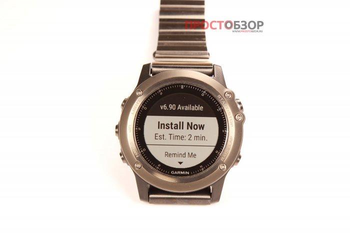 Прошивка часов Garmin Fenix 3 ver.6.90 - начало установки