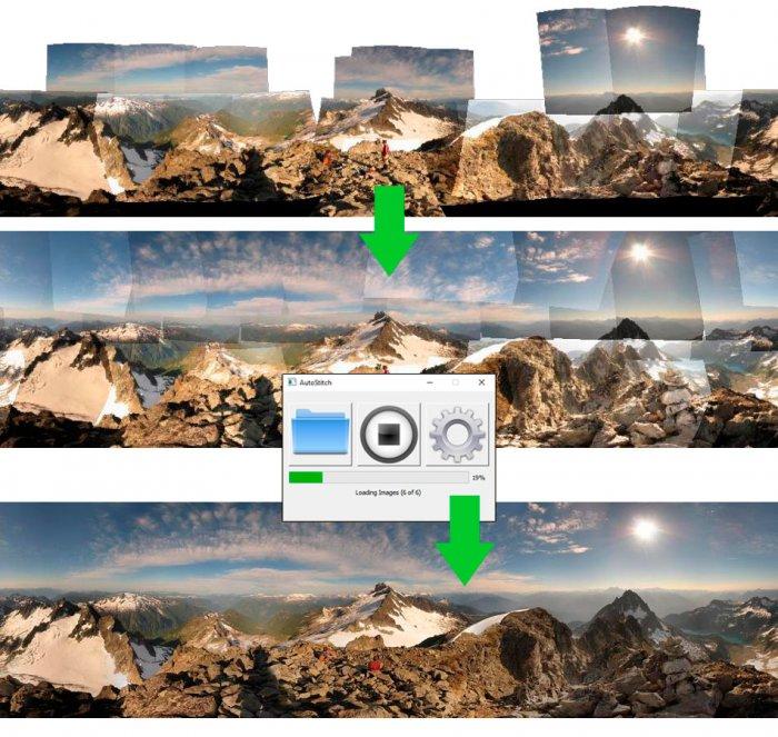 Как соединять панораму с помощью программ обработки