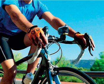 аква-бокс SPK-AS2 на велосипеде