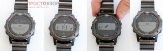 Установка высоты часов Fenix 3 вручную для альтиметра