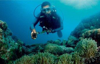 аква-бокс SPK-AS2 под водой