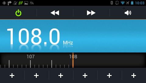 Garmin Monterra - поиск FM радио