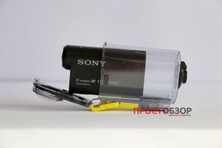 Установка камеры в аква-бокс SPK-AS2