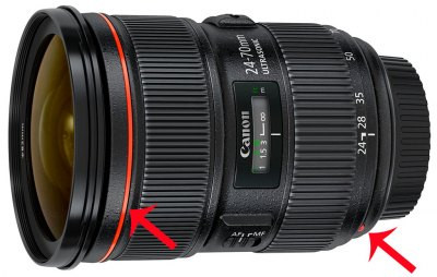 Основные отличия объективов Canon L-серии