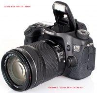 Камера Canon EOS 70D с объективом canon18-135mm is stm kit
