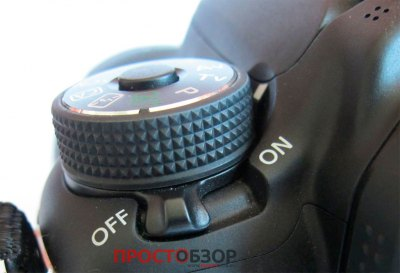 Колесо управления и выбора режимов Canon EOS 70D
