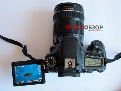 Поворотный ЖД-дисплей EOS 70D