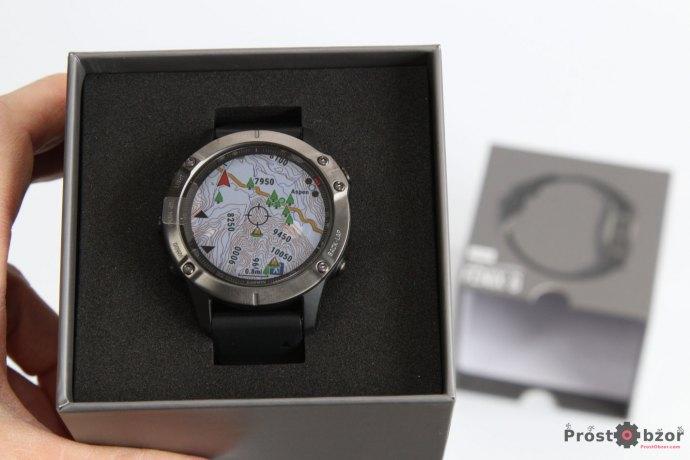 Распаковка часов Garmin Fenix 6 серия