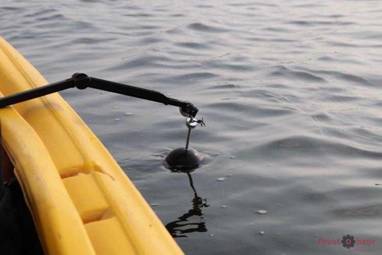 Крепление селфи-палки для эхолота Deeper PRO +