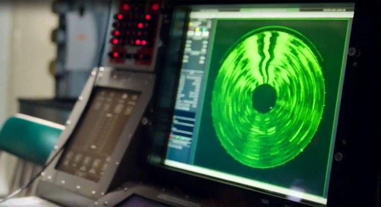 Как работает сонар на подводных лодках