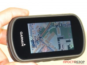 Экран GPS навигатора Garmin Etrex Touch 35