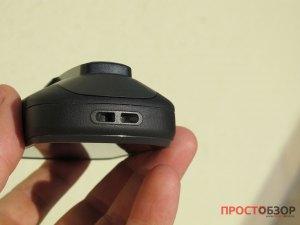 Нижняя часть GPS навигатора Garmin Etrex Touch 35