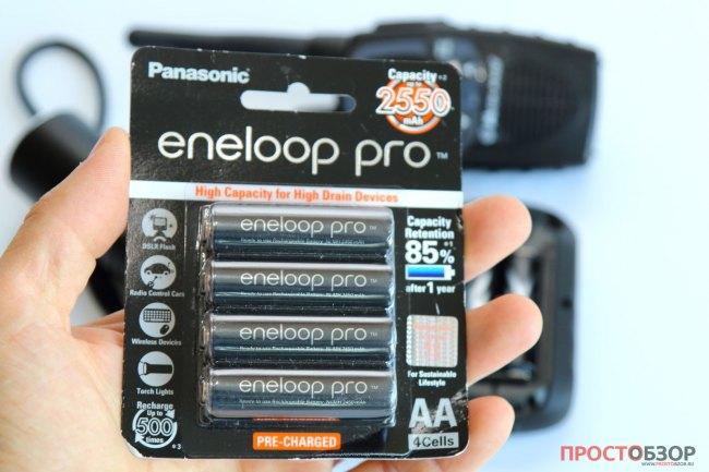 Eneloop аккумуляторы для портативных устройств