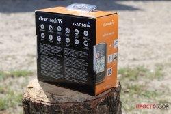 Коробка Garmin Etrex Touch 35 - задняя часть
