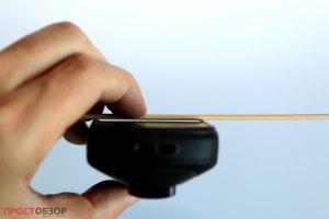 Защита экрана краями в  Etrex Touch 35