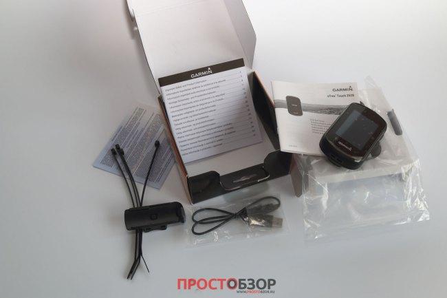 Комплектация GPS навигатора Garmin Etrex Touch 35