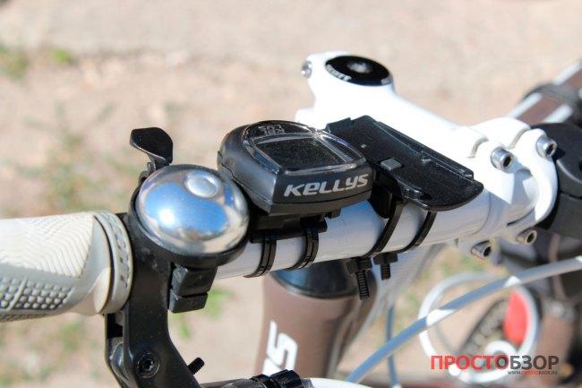 Установка вело-крепления на руль GPS навигатора Garmin Etrex Touch 35