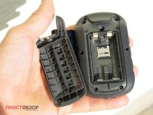 Задняя крышка корпуса GPS навигатора Garmin Etrex Touch 35