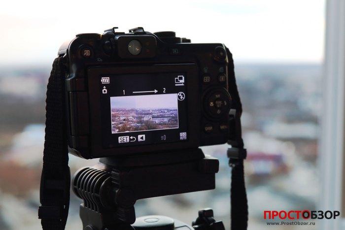 Как сделать панораму с помощью камеры Canon