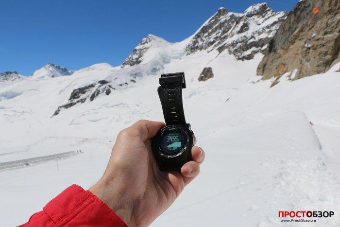 Часы Garmin Fenix 2 в Альпах