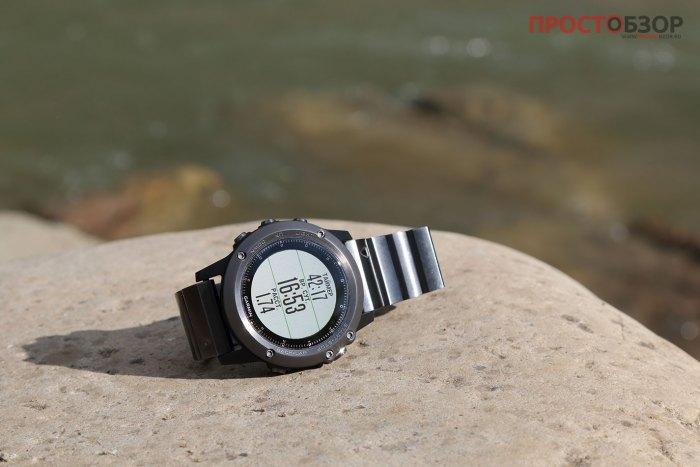 Мульти-функциональные туристично - спортивные часы Garmin Fenix 3