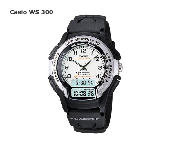 часы ws300-casio