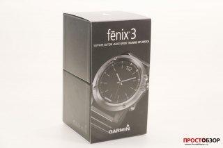 Коробка часов Fenix 3 передняя часть