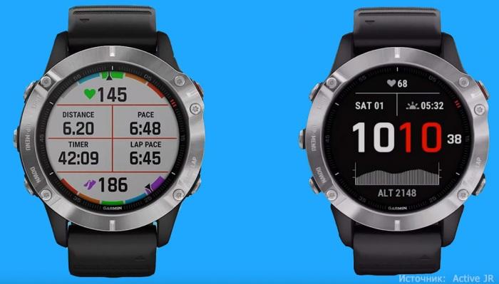 Внешний вид часов Garmin Fenix 6