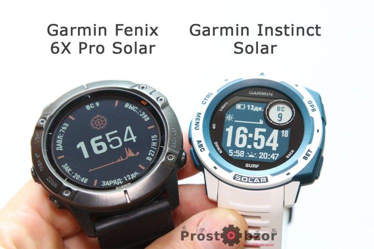 Новая модель Garmin Instinct Solar