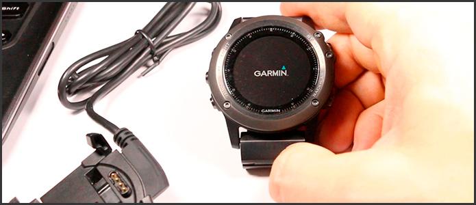 Как выключить и включить часы Garmin Fenix 3 без кнопок - хак