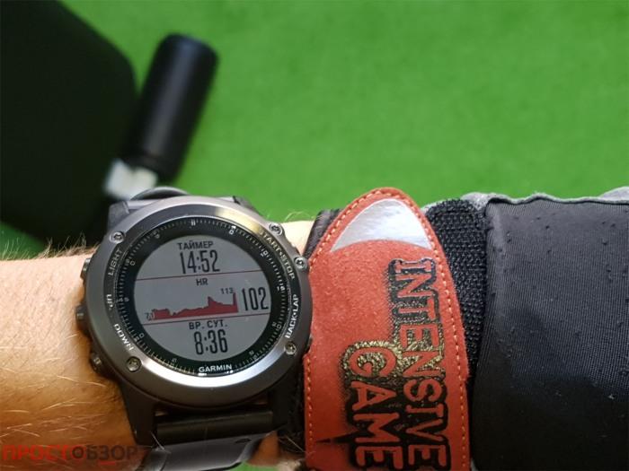 Дополнительные дата-поля циферблата часов Garmin Fenix 3 HR