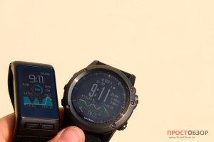 Стекло часов Garmin Fenix 3 HR - Vivoactive HR