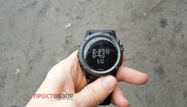 Оповещения по дистанции для бега в часах Garmin Fenix 3 HR