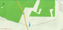 Пример карты Garmin