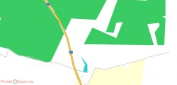 Пример бесплатной карты OpenStreetMap