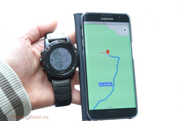 Что лучше - телефон или часы Fenix 5X ?