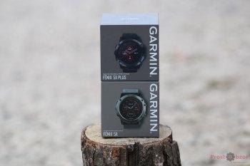 Упаковка часов Garmin Fenix 5X plus - вид спереди
