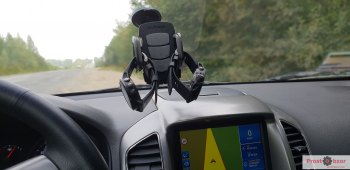 Тестирование режима GPS + Galileo в автомобиле