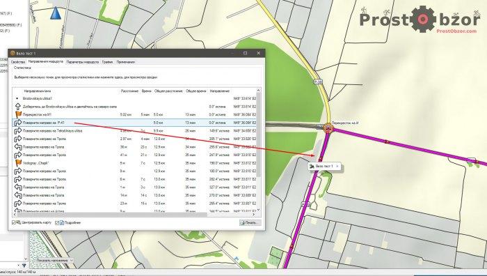 Повороты в вело маршрутах в картах Garmin Edge