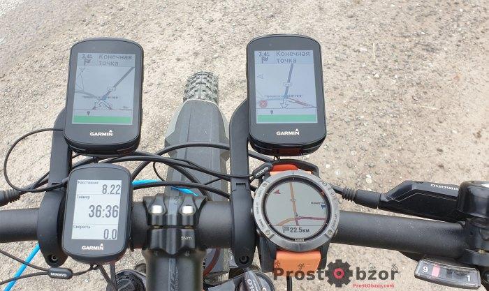 Изменение дистанции в велокомпьютерах Garmin Edge