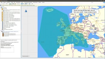 Вело карта Garmin  - северо-западная Европа для Garmin Edge