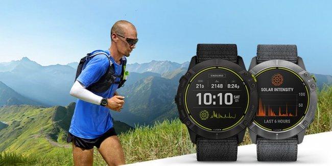 Garmin Enduro для долгих марафонов и забегов