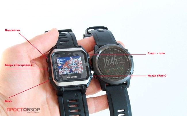 Кнопки часов Garmin Epix,Fenix 3 HR