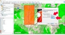 Шаг 5  - Выбор уровня детализации карты BirdsEye в BaseCamp