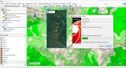 Шаг 6  - Загрузка спутникового снимка BirdsEye карты в BaseCamp