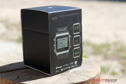 Распаковка часов Garmin Epix - вид сбоку