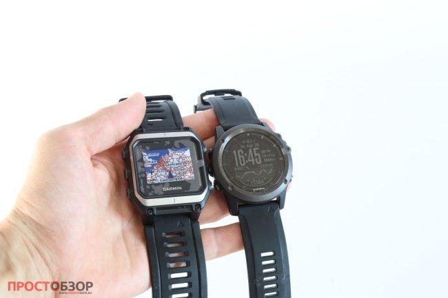 Циферблат часов Garmin Epix - Garmin Fenix 3 HR