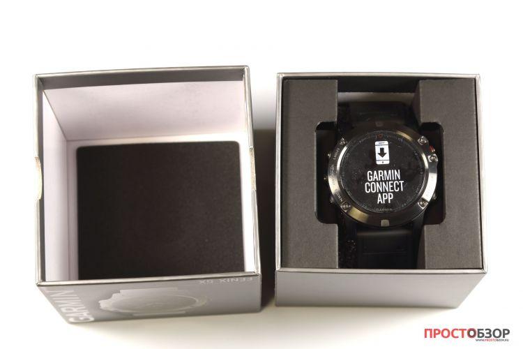 Распаковка часов Garmin Fenix 5X