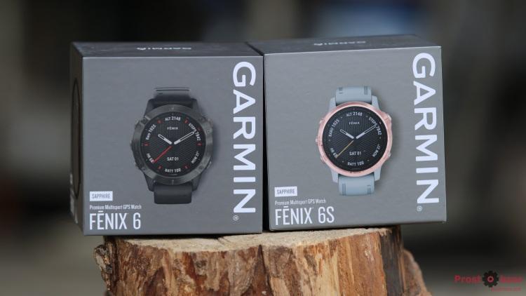 Распаковка часов Garmin Fenix 6 - 6S - передняя крышка